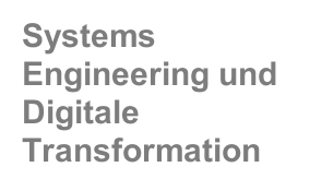 Systems Engineering und Digitale Transformation
